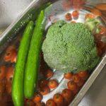 ⭐️錬金術師の塩でお野菜を洗う⭐️